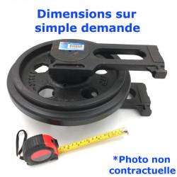 Roue Folle de Pousseur CASE 350 B DOZER