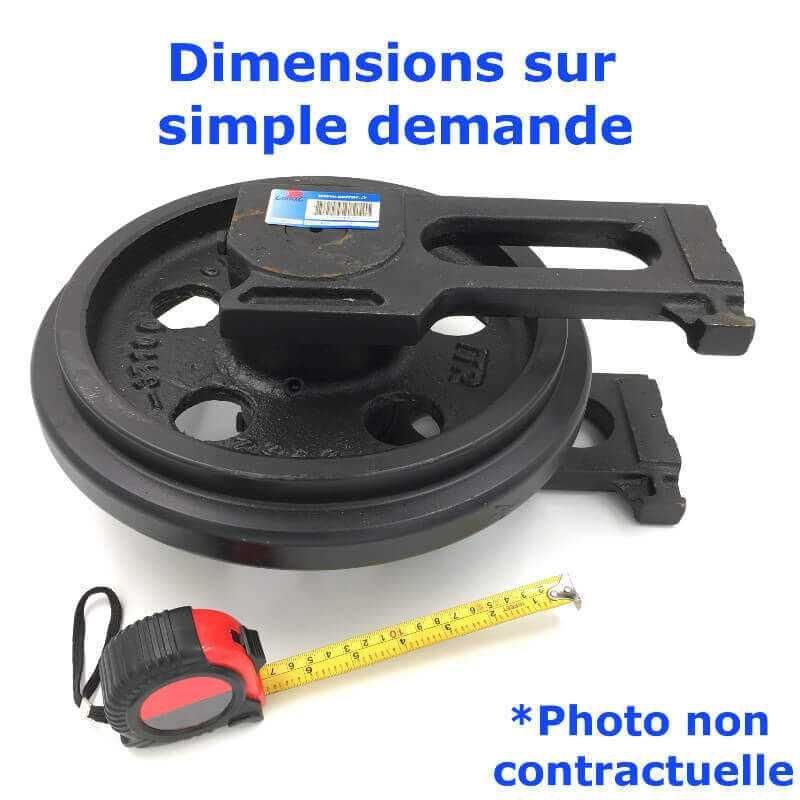 Roue Folle de Pousseur CASE 350 B-HD DOZER