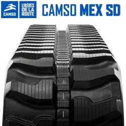 Chenille caoutchouc Camso SD 400X72,5X74V1JEA