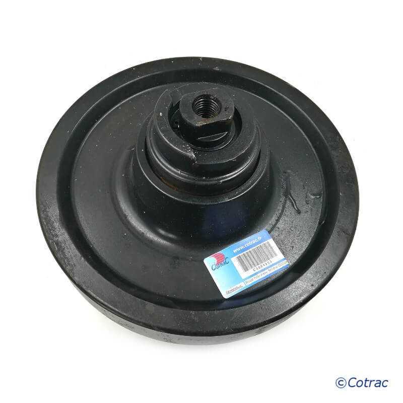 Roue Folle arrière de Mini-chargeur CASE TV380