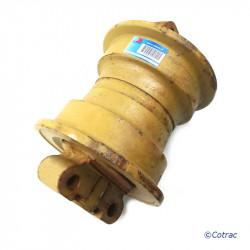 Galet inférieur simple flasque de Pousseur CASE 1550 LT