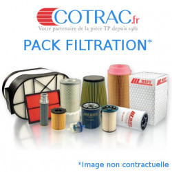 Pack filtres Kubota U25-3