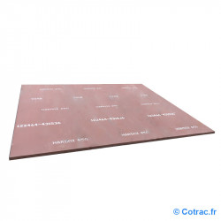 Tôle Hardox 450 sur 3000 x 1500 x 6 mm