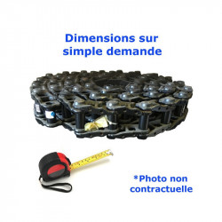 Chaîne acier nue de Pelleteuse KOMATSU PC210 NLC 7 serie 40001-UP