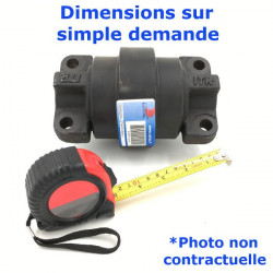 Galet inférieur Double Flange de Mini-chargeur CASE TR320
