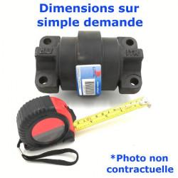 Galet inférieur Double Flange de Pousseur CASE 1550 LT