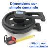 Roue Folle de Pousseur CNH AD7 serie 554057-UP