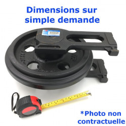 Roue Folle de Pousseur DRESSER TD15 E Serie U 8001-UP