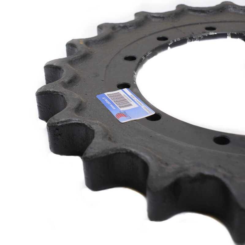 Barbotin de Mini-pelle HYUNDAI R55 Serie 7A 0-150